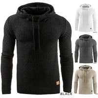 Men's Winter Hoodie Warm Hooded Sweatshirt Coat Jacket Outwear Sweater [9210702211]