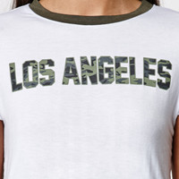 LA Hearts Los Angeles Contrast Crew Neck T-Shirt at PacSun.com