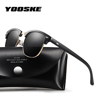 Polarized Sunglasses Men Women Retro Brand Designer High Quality Sun Glasses.