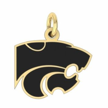 Buy Kansas State Wildcats 14K Yellow Gold College Charms and Jewelry, Get Fast Free Shipping