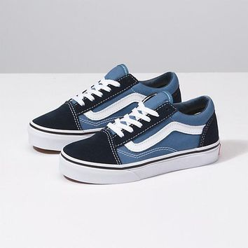 Vans Y Old Skool-Blue Tnt