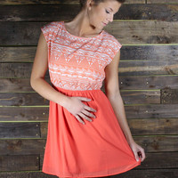Orange Julius Dress