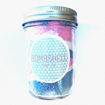 Sunset Beach Bath Candy Jar