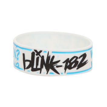 Blink-182 Whats My Age Again? Rubber Bracelet