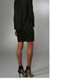 NWT Rachel Pally Cowl Back Dress in Black, Size Small