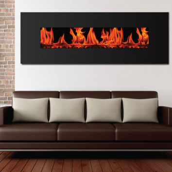 Frigidaire Valencia Extra Wide Wall Mount Electric Fireplace | Overstock.com