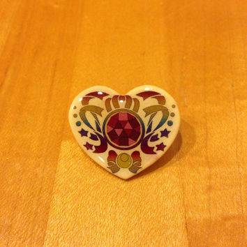 Sailor Moon Transformation Brooch Pin
