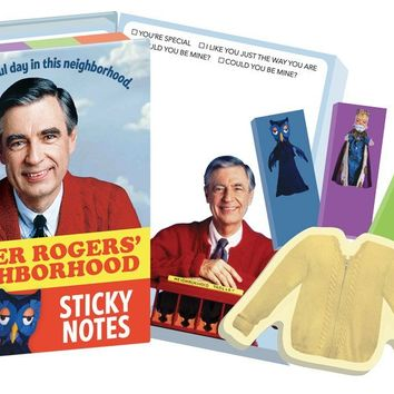 PHILOSPHERS GUILD MISTER ROGERS STICKY NOTES