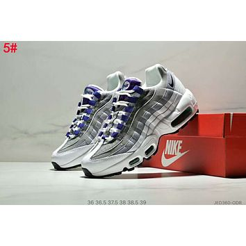 Nike Air Max 95 Fashionable Women Leisure Air Cushion Running Sport Shoes Sneakers 5#