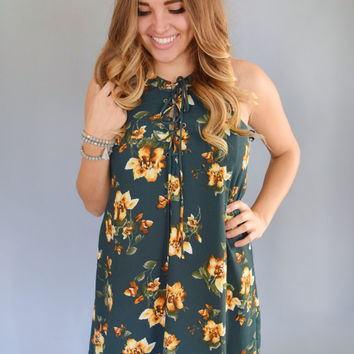 Dream Catcher Floral Pattern Dress