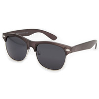 Blue Crown Club Classic Sunglasses Matte Black One Size For Men 21495318201