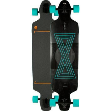 Goldcoast Infinitas Drop Through Longboard Black One Size For Men 25240410001