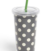 kate spade new york polka dot insulated tumbler