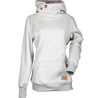 Turtle Neck Sweaters With Button Design