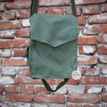 Crossbody bag messenger bag canvas messenger bag military bag canvas bag army bag canvas backpack indiana jones bag bag for ipad vintage