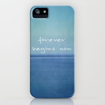 forever begins now iPhone & iPod Case by Steffi Louis-findsFUNDSTUECKE