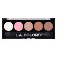 LA Colors 5 Color Metallic Eyeshadow Palette