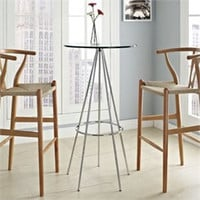Sync Bar Table in Clear East End Imports EEI-1089-CLR