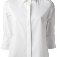 Valentino Pleated Hem Blouse