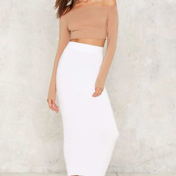 Body Conventional Maxi Skirt