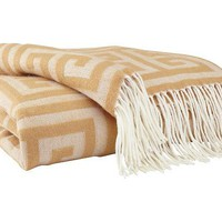 A1000604T Anitra Throw - Gold - Free Shipping!