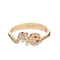 Diamond & yellow-gold 'Me' ring | Alison Lou | MATCHESFASHION.COM US
