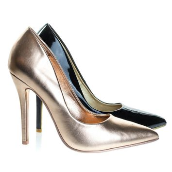 Doll Penny By Not Just A Pump, Classic High Stiletto Heel Pump w Pointed Toe