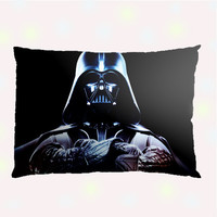 Darth Vader Star Wars Pillow Case - Custom Pillow - One side ( Front Print )