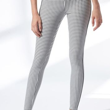 LA Hearts Gingham Leggings at PacSun.com