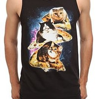 Pizza Cats In Space Tank Top - 10000775