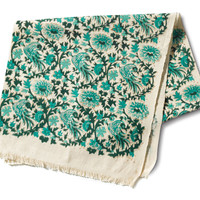 JOYN Emerald Bird Table Runner