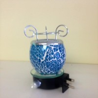 Blue Plugin fragrance Lamp warmer