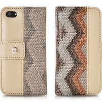 Le nouveau Wave Series iPhone 5 and 5S Flip Leather Case - Camel
