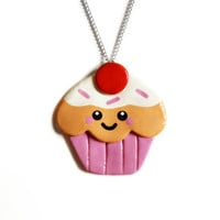 Yummy Cupcake Necklace