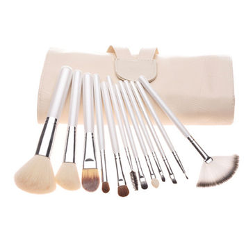Pearls Luxury Hot Sale 12-pcs Make-up Brush Set = 4831035652