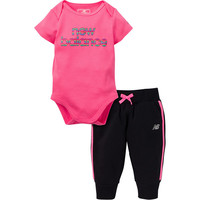 New Balance 2-pc. Bodysuit Set-Baby Girls - JCPenney