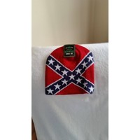 Confederate flag new knit beanie with tags