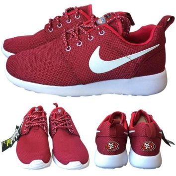 Nike San Francisco 49ers London Olympics Red Shoes