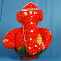 handmade  glittering woolen woven  shree ganesha with laddoo /shri ganesha/puja/ home decor.