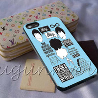 The Fault in Our Stars Quote  3 Cover - iPhone 4 4S iPhone 5 5S 5C and Samsung Galaxy S3 S4 S5 Case