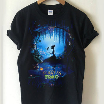 The Princess and the Frog poster T-shirt Men, Women Youth and Toddler