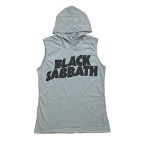 Black Sabbath Tank Top Shirt T-Shirt Women Hoodie Muscle Tee Size S M