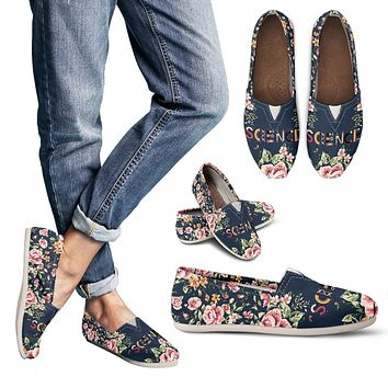 Floral Science Casual Shoes-Clearance