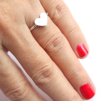 My Love Ring in Sterling Silver FREE SHIPPING by meltemsem on Etsy