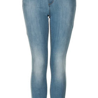 MOTO Bleach Leigh Jeans - Leigh Skinny Jeans - Jeans  - Clothing