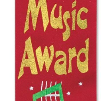 Music Award Ribbon - CASE OF 36