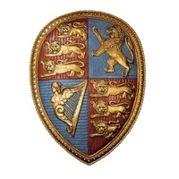 SheilaShrubs.com: Queen Victoria's Royal Coat of Arms Shield Sculpture EU32189 by Design Toscano: Wall Sculptures