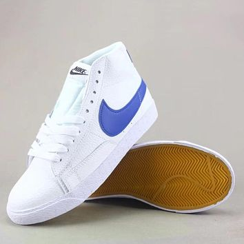 Trendsetter Nike Blazer Mid  Fashion Casual High-Top Old Skool Shoes