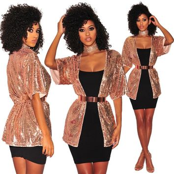 Gold Bling Bling Party Coat