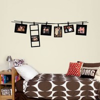 Small Clothesline Frame Decal - Wall